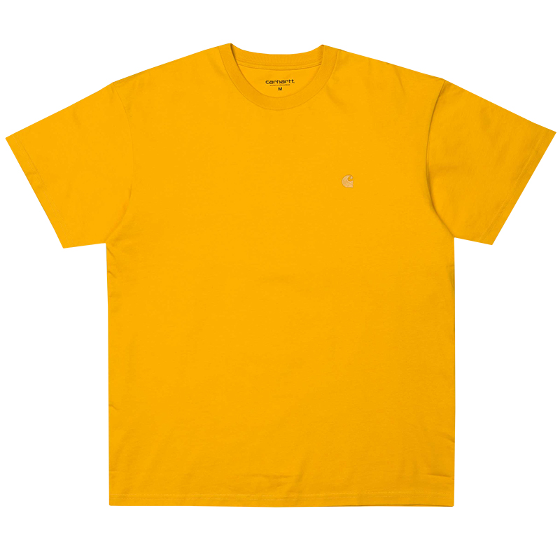 Carhartt Chase T-Shirt Quince/Gold
