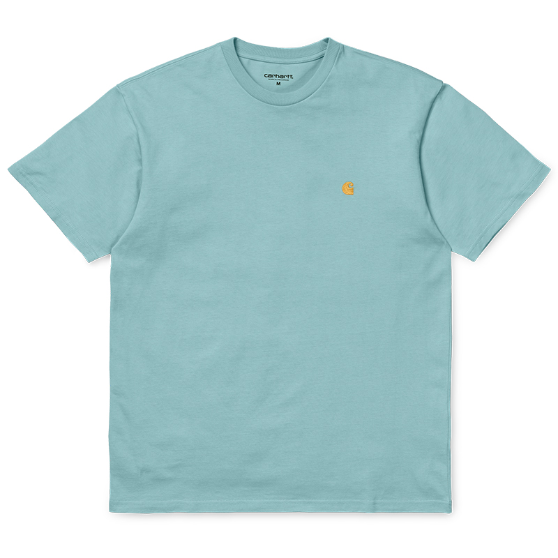 Carhartt Chase T-Shirt Soft Aloe/Gold