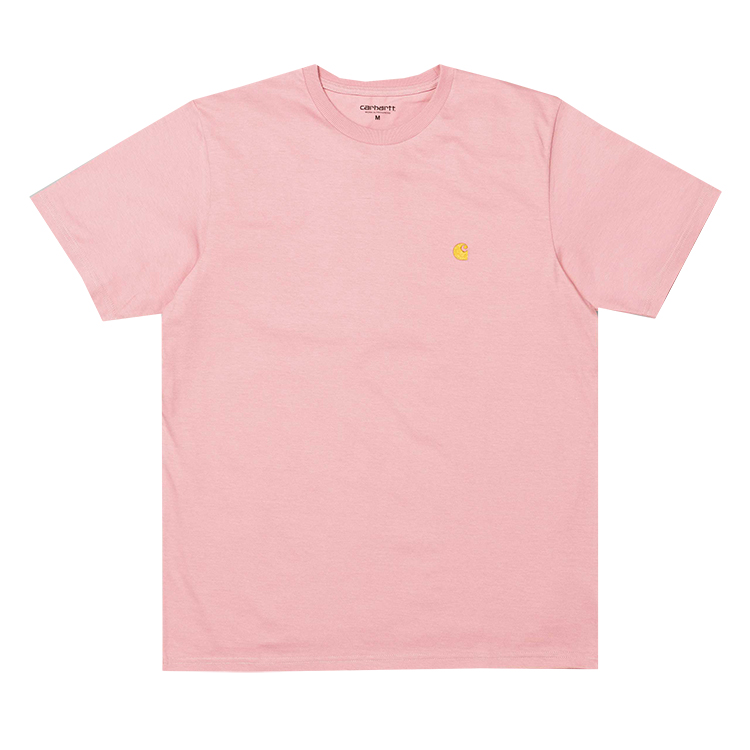 Carhartt Chase T-Shirt Soft Rose/Gold