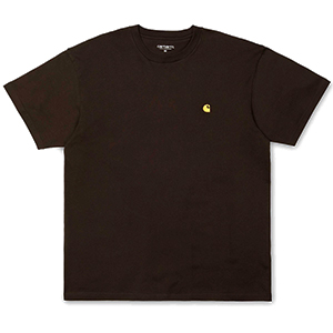 Carhartt Chase T-Shirt Tobacco/Gold