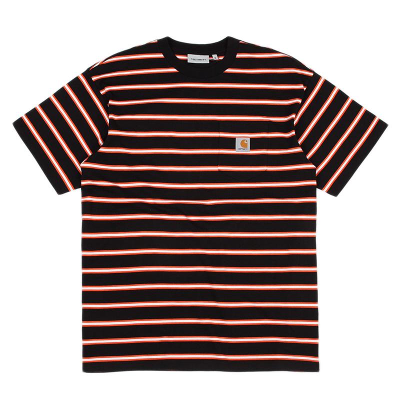 Carhartt WIP Houston Pocket T-Shirt Black
