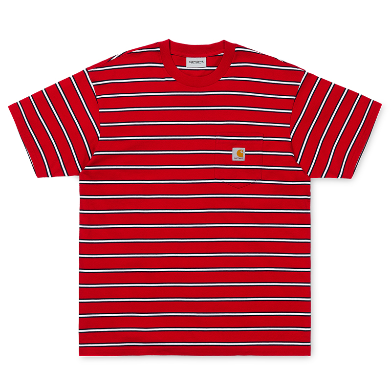 Carhartt WIP Houston Pocket T-Shirt Cardinal