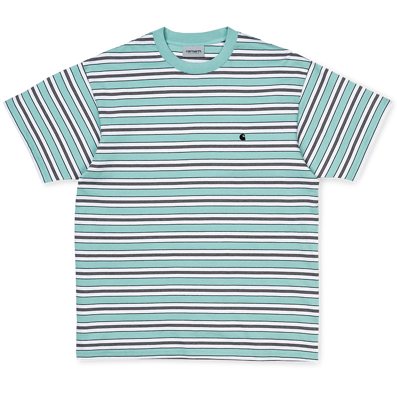 Carhartt WIP Huron T-Shirt Soft Aloe/Black
