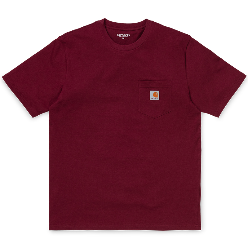 Carhartt Pocket T-Shirt Cranberry