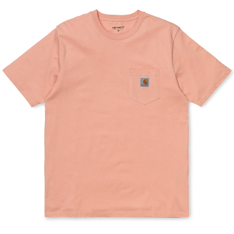 Carhartt Pocket T-Shirt Peach