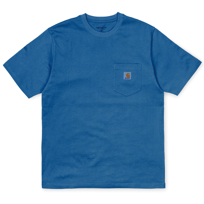 Carhartt Pocket T-Shirt Prussian Blue