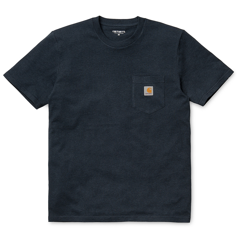 Carhartt Pocket T-shirt Navy Heather