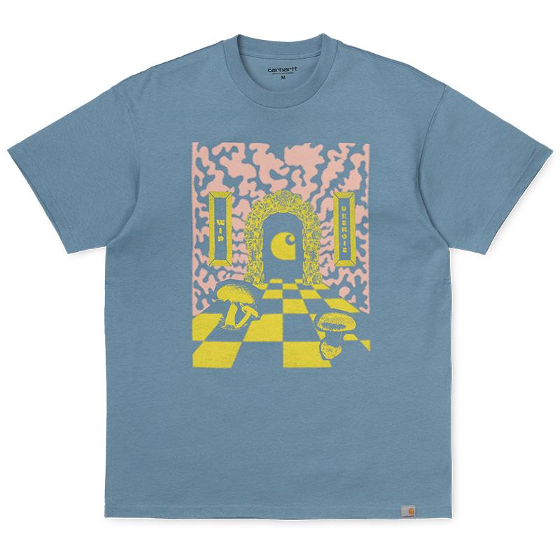 Carhartt Shroom T-Shirt Cold Blue