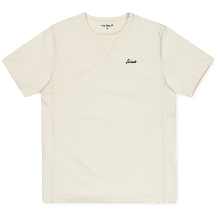Carhartt Stray Script T Shirt Wax/Black