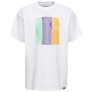Carhartt Striped T-Shirt White