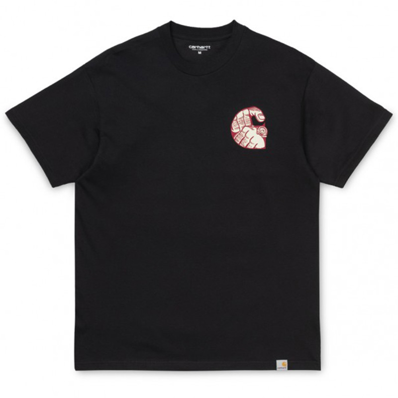 Carhartt Time Is Up T-Shirt Black