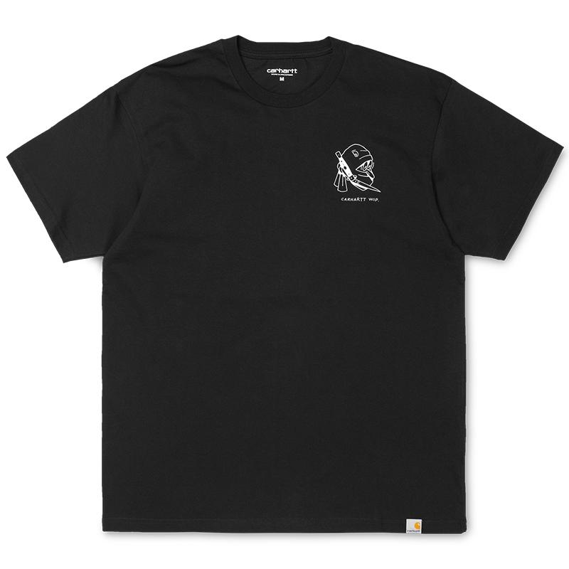 Carhartt Trust No One T-shirt Black/White