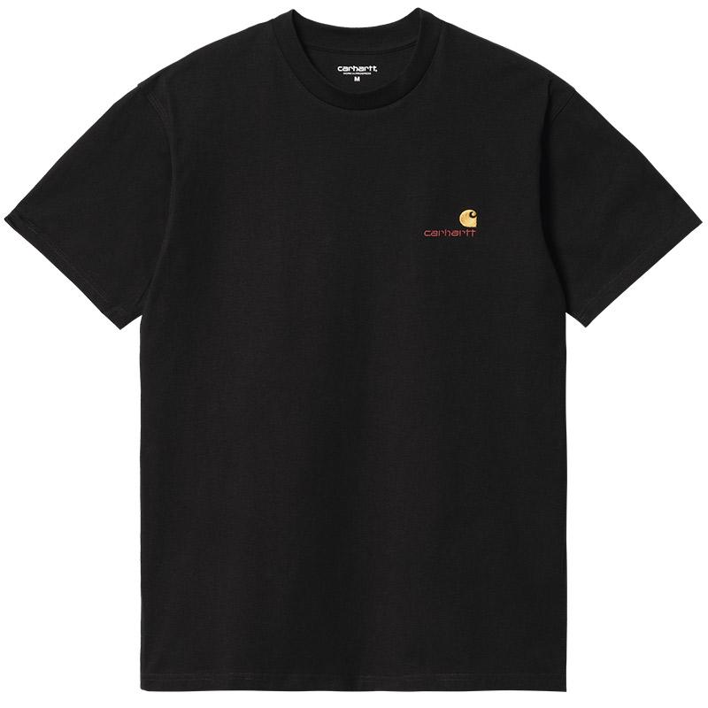 Carhartt WIP American Script T-Shirt Black