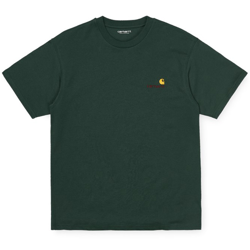 Carhartt WIP American Script T-Shirt Dark Teal