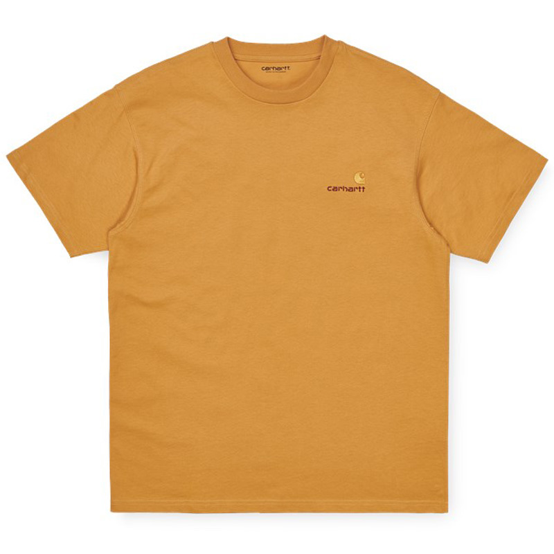 Carhartt WIP American Script T-Shirt Winter Sun