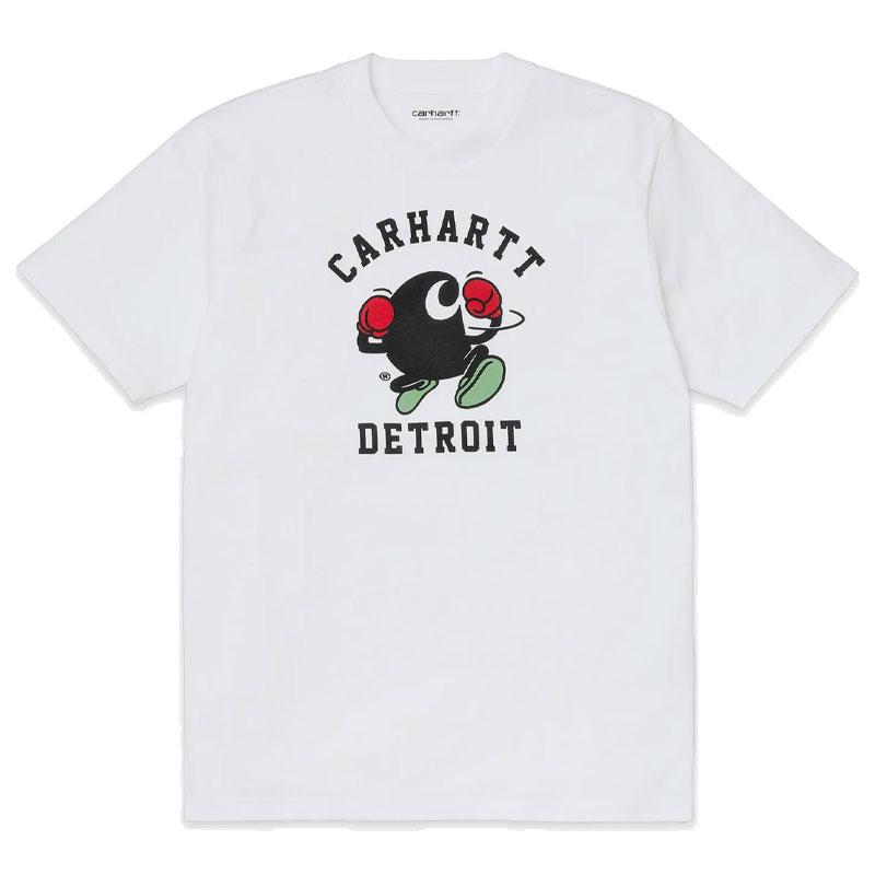 Carhartt WIP Boxing C T-Shirt White