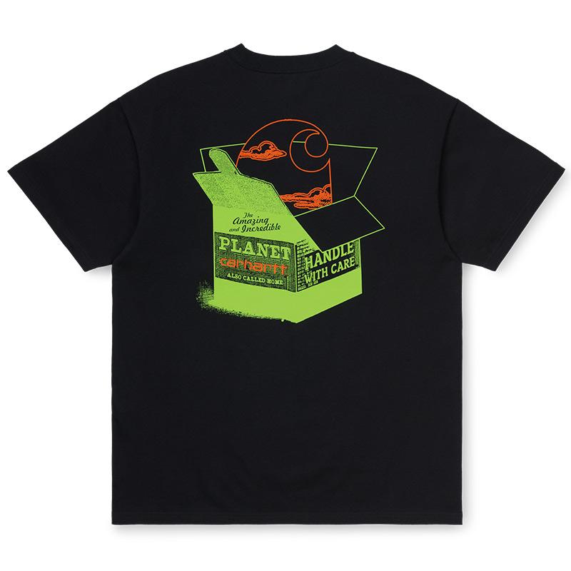 Carhartt WIP Carhartt WIP Love Planet T-Shirt Black
