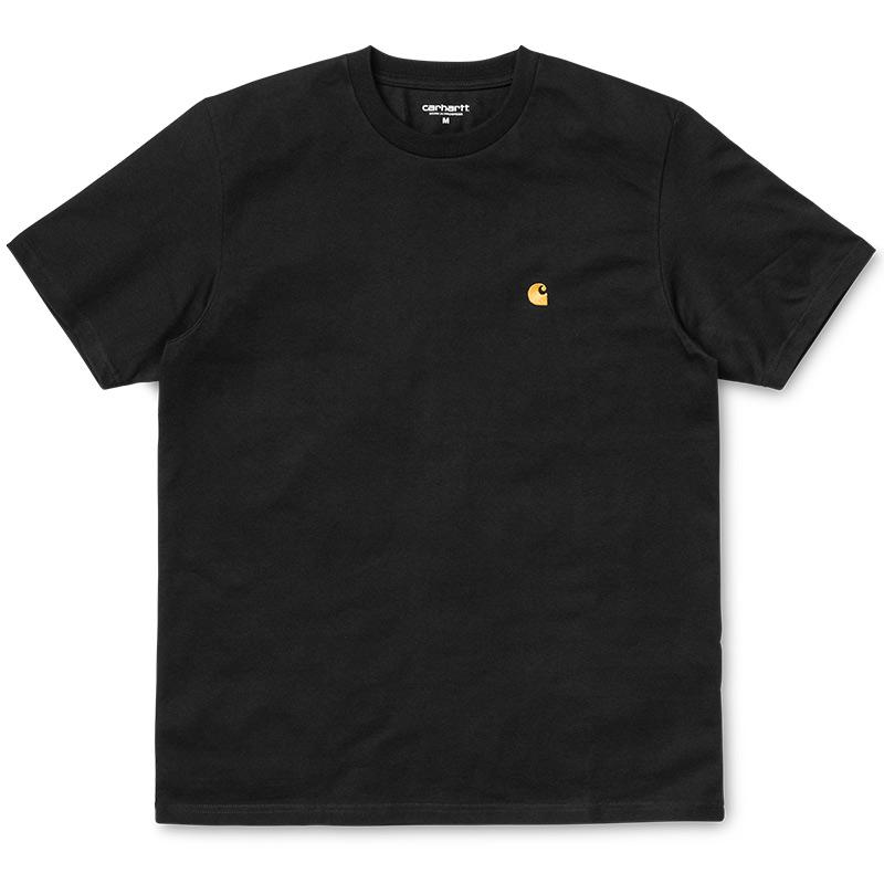 Carhartt WIP Chase T-Shirt Black/Gold