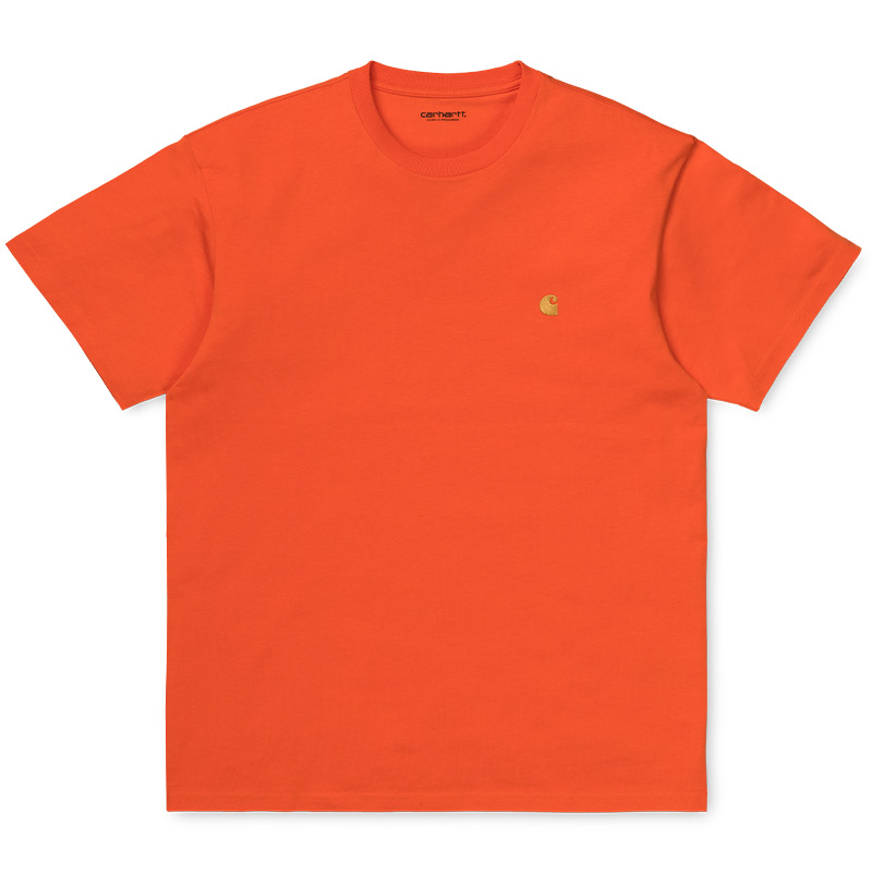 Carhartt WIP Chase T-Shirt Clockwork/Gold