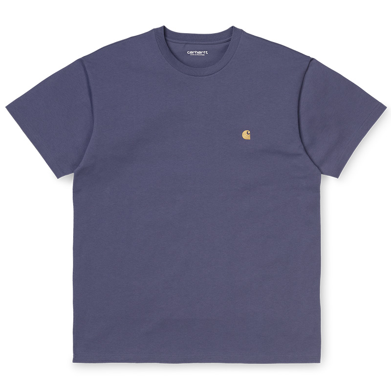 Carhartt WIP Chase T-Shirt Cold Viola/Gold