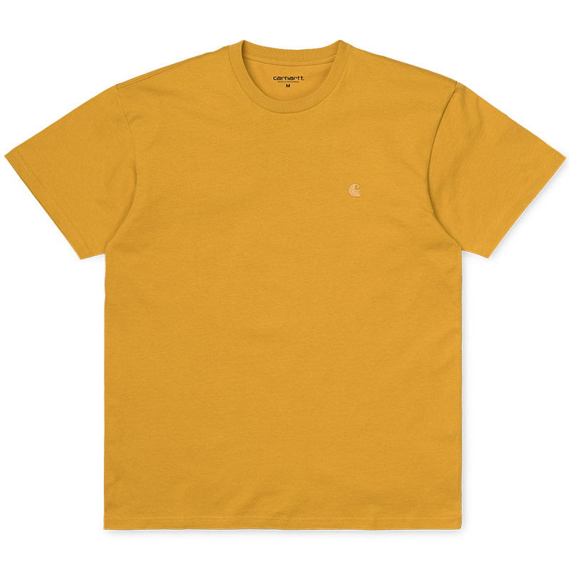 Carhartt WIP Chase T-Shirt Colza/Gold