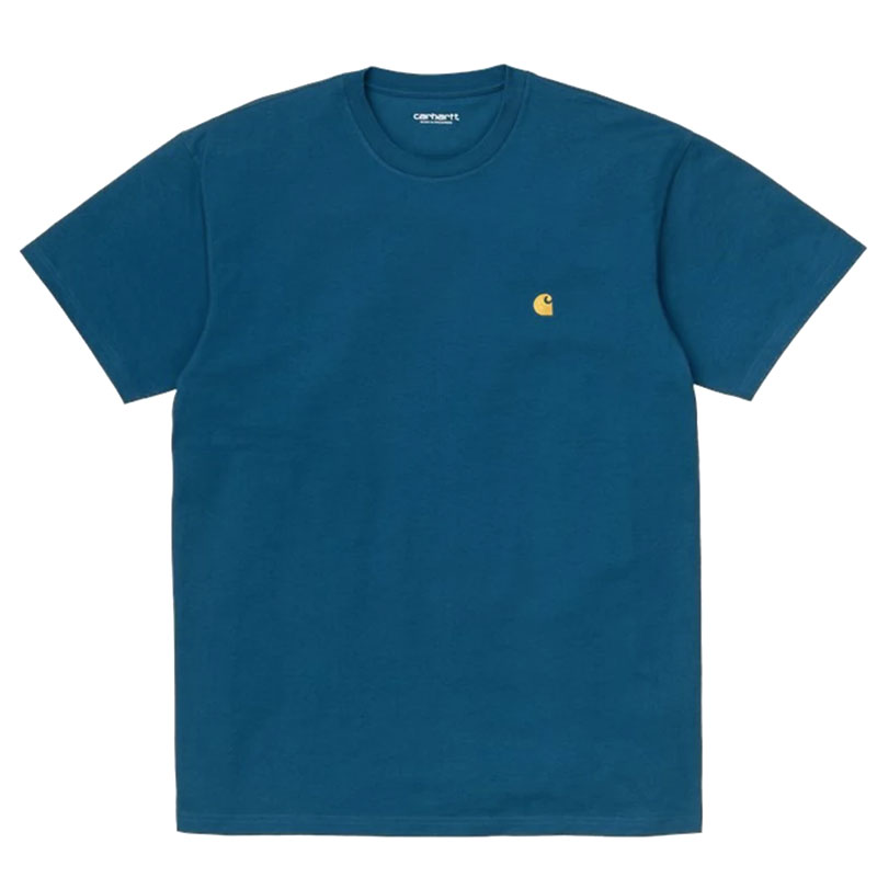 Carhartt WIP Chase T-Shirt Corse/Gold
