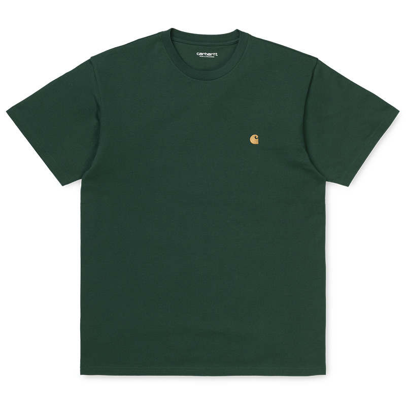Carhartt WIP Chase T-Shirt Dark Teal/Gold