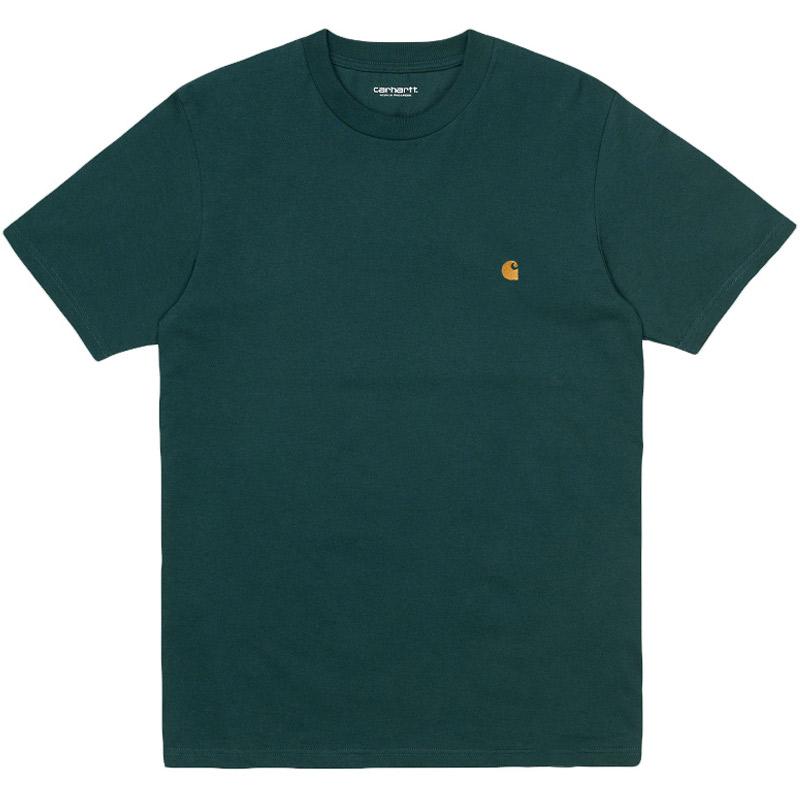 Carhartt WIP Chase T-Shirt Frasier/Gold