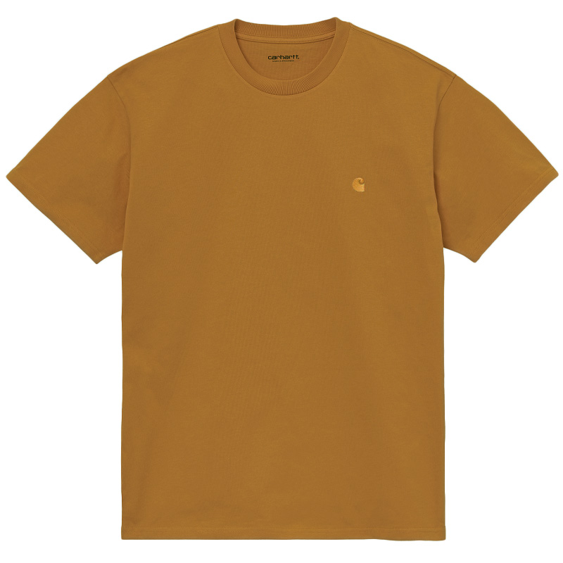 Carhartt WIP Chase T-Shirt Helios/Gold