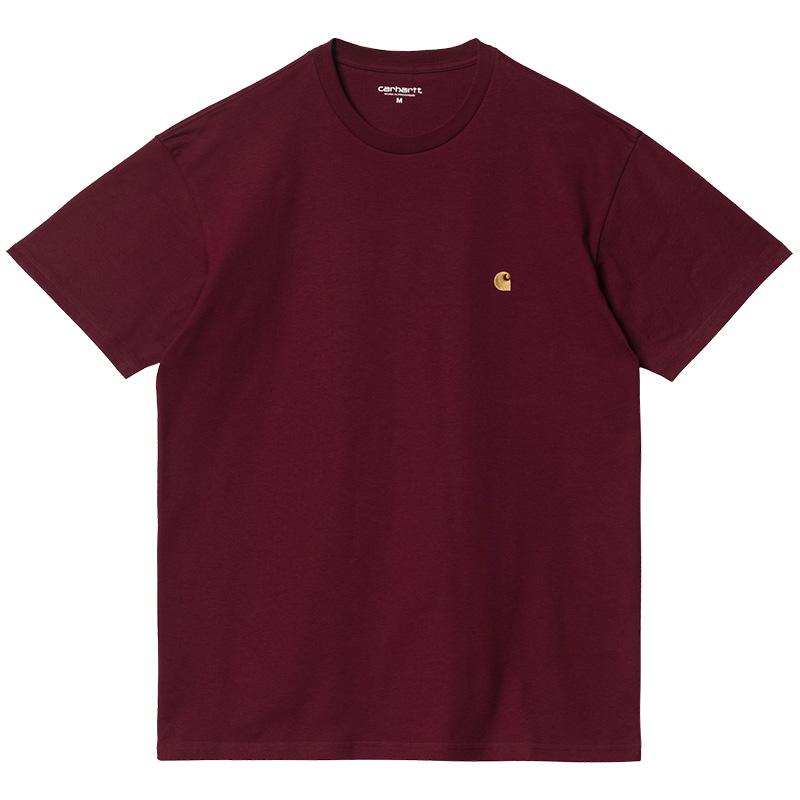 Carhartt WIP Chase T-Shirt Jam/Gold