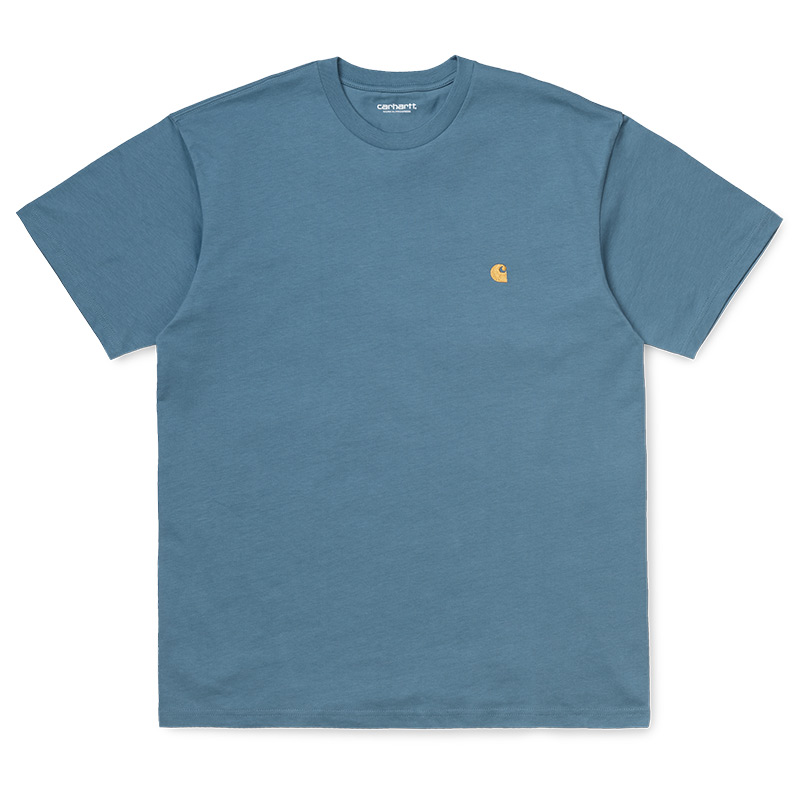 Carhartt WIP Chase T-Shirt Mossa/Gold