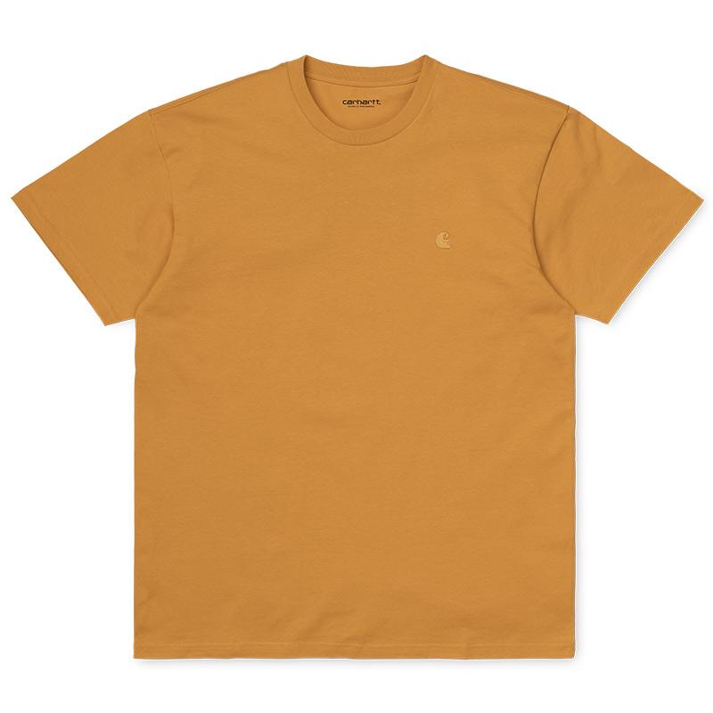 Carhartt WIP Chase T-Shirt Winter Sun/Gold