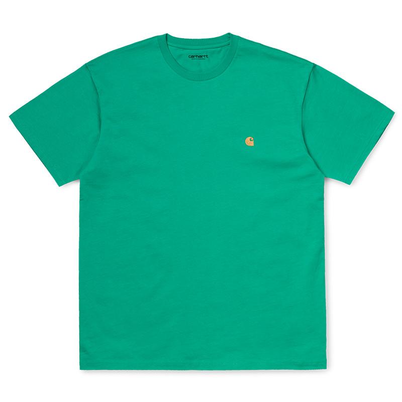 Carhartt WIP Chase T-Shirt Yoda/Gold