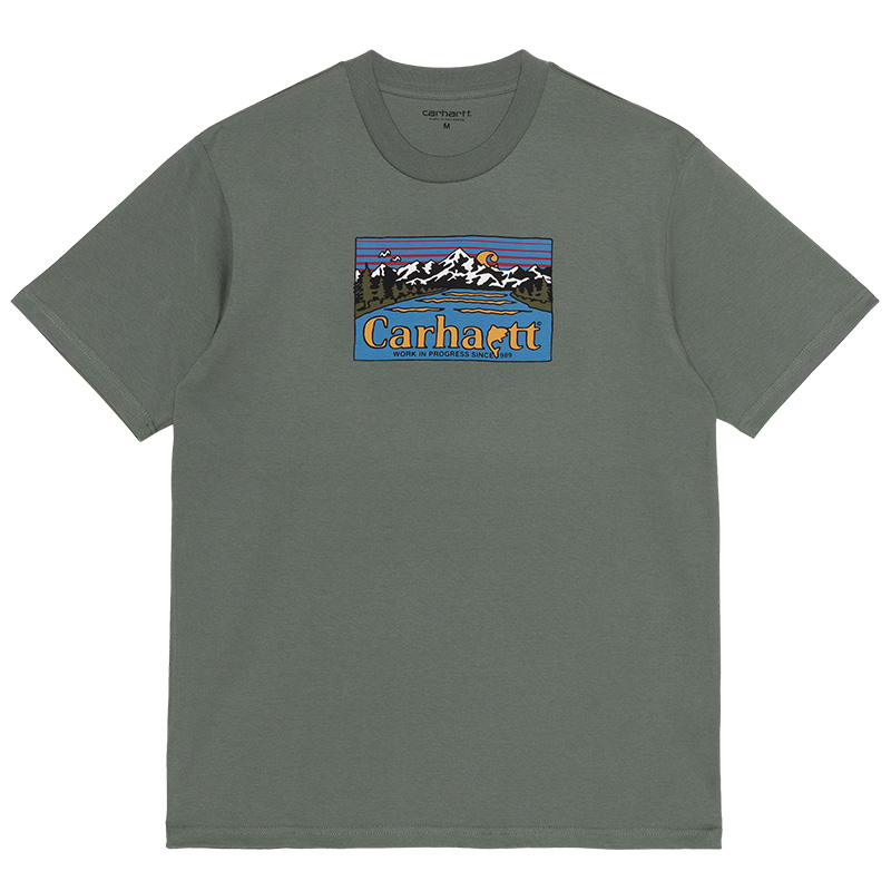 Carhartt WIP Great Outdoors T-Shirt Thyme
