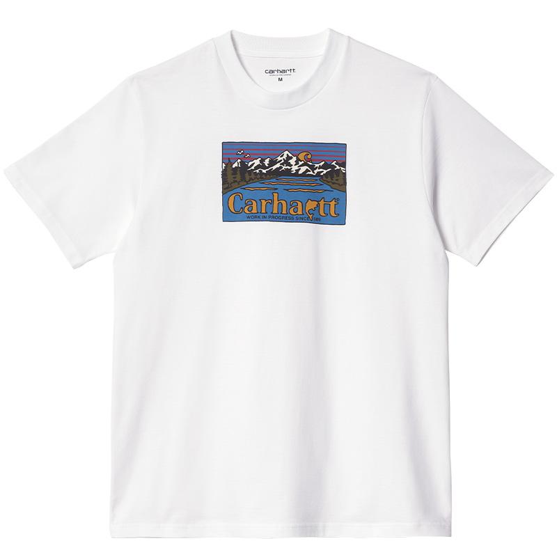 Carhartt WIP Great Outdoors T-Shirt White