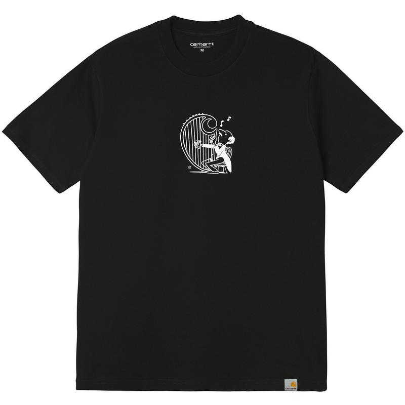 Carhartt WIP Harp T-Shirt Black/White
