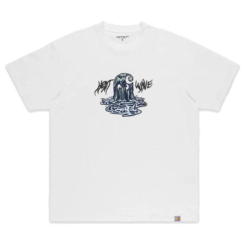 Carhartt WIP Heat Wave T-Shirt White
