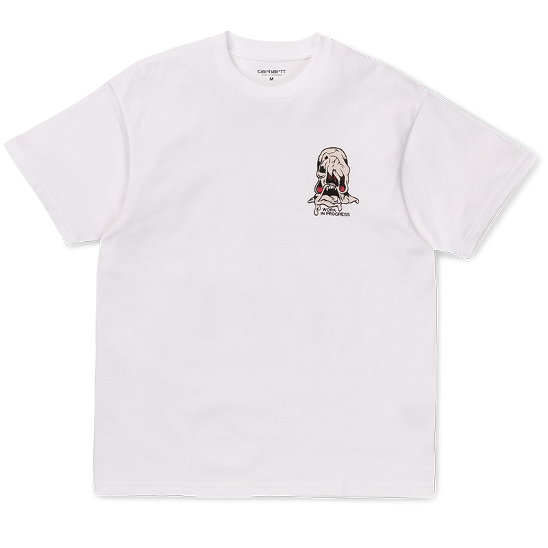 Carhartt WIP Horror T-Shirt White