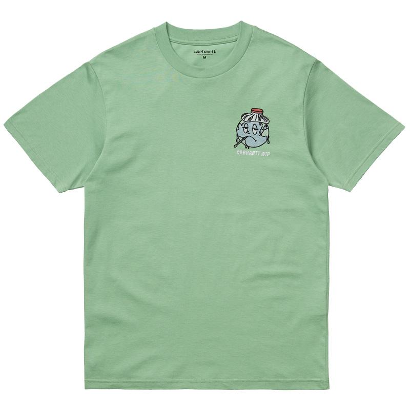 Carhartt WIP Ill World T-Shirt Mineral Green