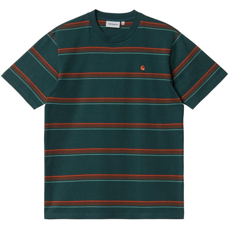 Carhartt WIP Kent T-Shirt Kent Stripe Frasier