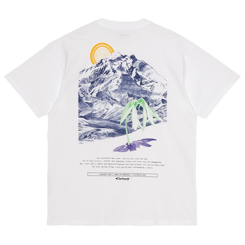 Carhartt WIP Mountain T-Shirt White