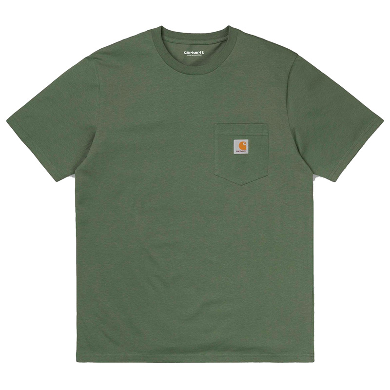 Carhartt WIP Pocket T-Shirt Dollar Green