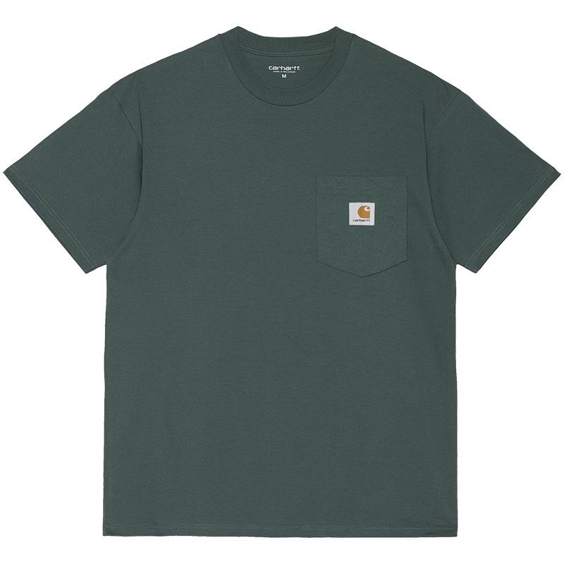 Carhartt WIP Pocket T-Shirt Eucalyptus