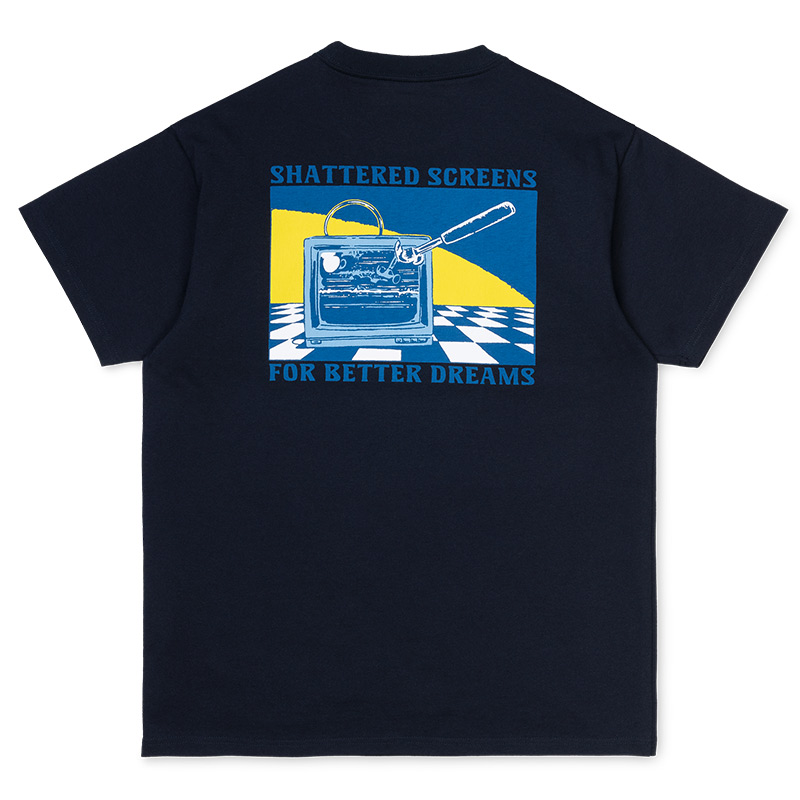 Carhartt WIP Remote T-Shirt Dark Navy