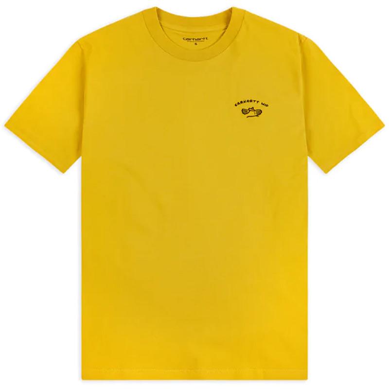 Carhartt WIP Reverse Midas T-Shirt Colza/Black