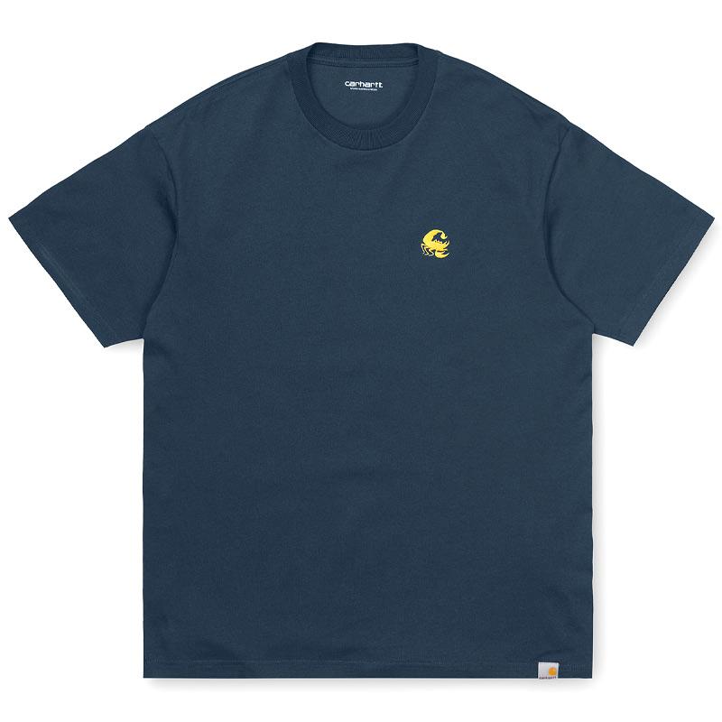 Carhartt WIP Scorpions C T-Shirt Admiral/Colza