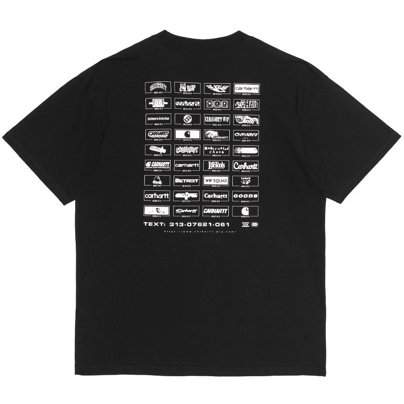 Carhartt WIP Screensaver T-Shirt Black/White