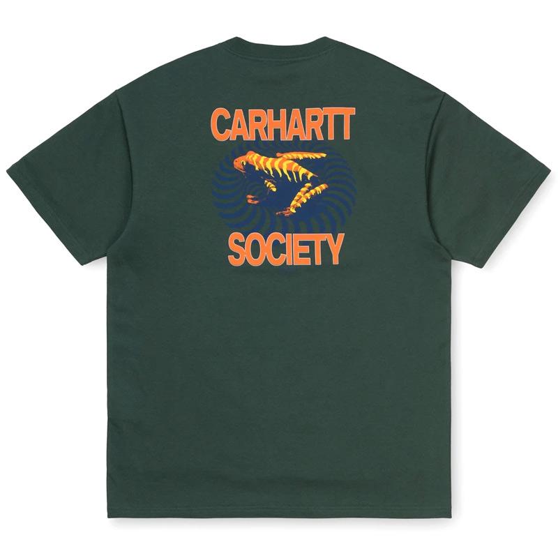 Carhartt WIP Society T-Shirt Dark Teal