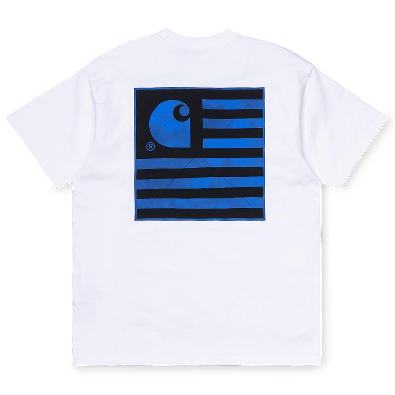 Carhartt WIP State Chromo T-Shirt White