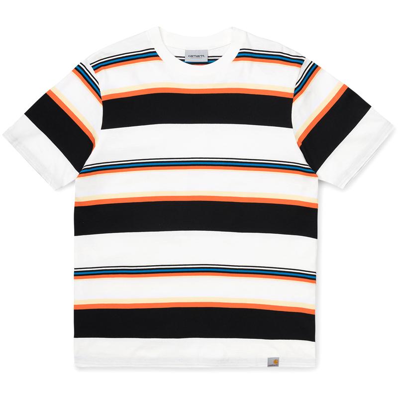 Carhartt WIP Sunder T-Shirt Sunder Stripe/ Wax/Wax
